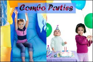 combo birthday parties