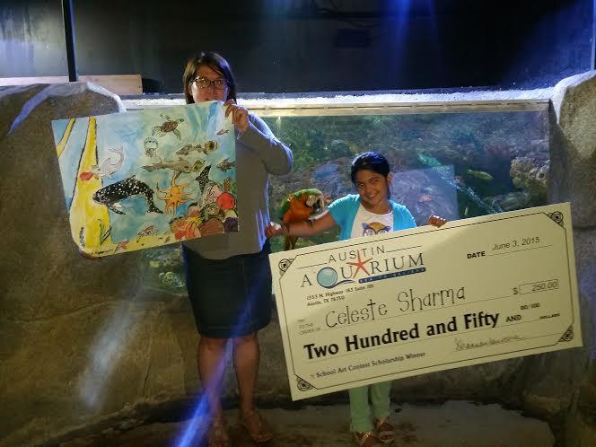 2nd Annual End Of School Art Contest San Antonio Aquarium
