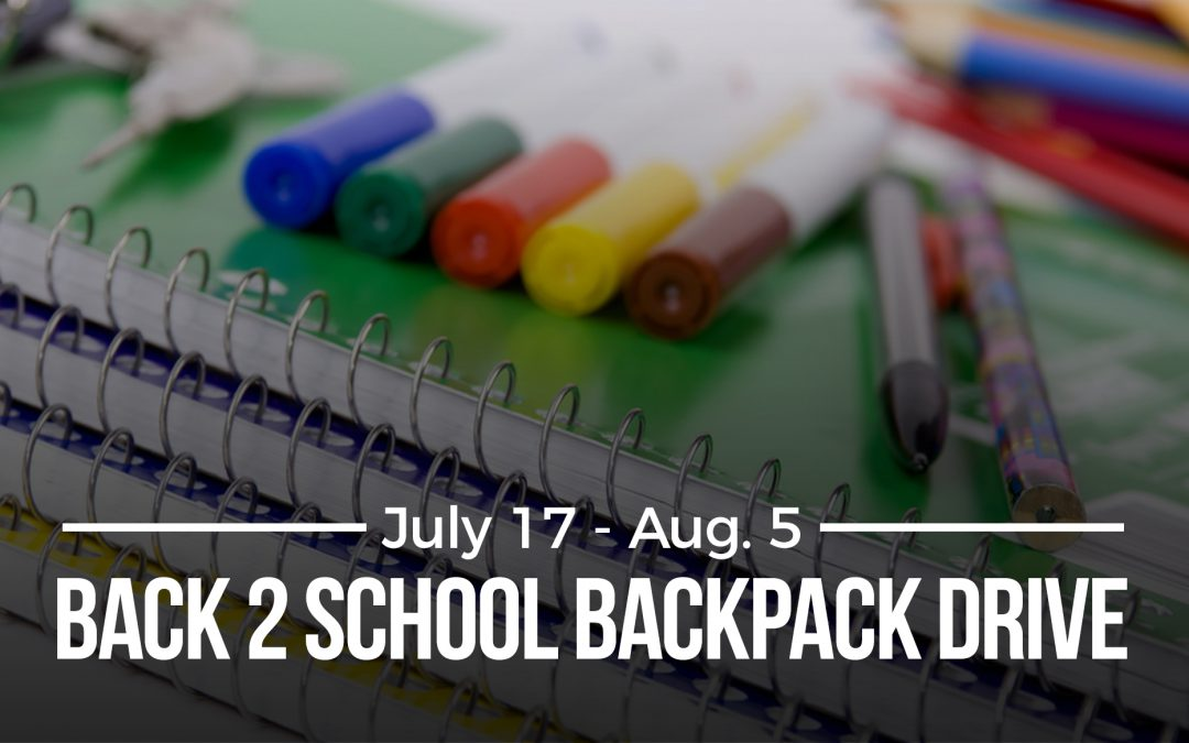 Back 2 School Backpack Drive A San Antonio Aquarium
