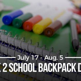 Back 2 School Backpack Drive A San Antonio Aquarium