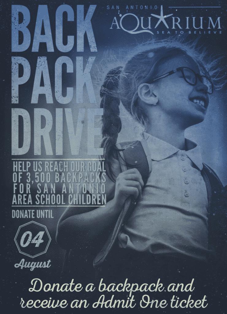 Back 2 School Backpack Drive
