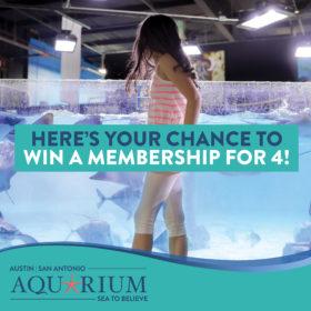 San Antonio Aquarium Is Giving Away A Free Membership Everyday Through Jan. 15